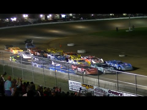 ULMS Super Late Model Feature | McKean County Raceway | Stephanie Eckl Memorial | 9-7-14