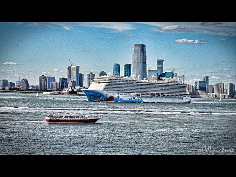 Governors Island And New York Harbor 8/13/17