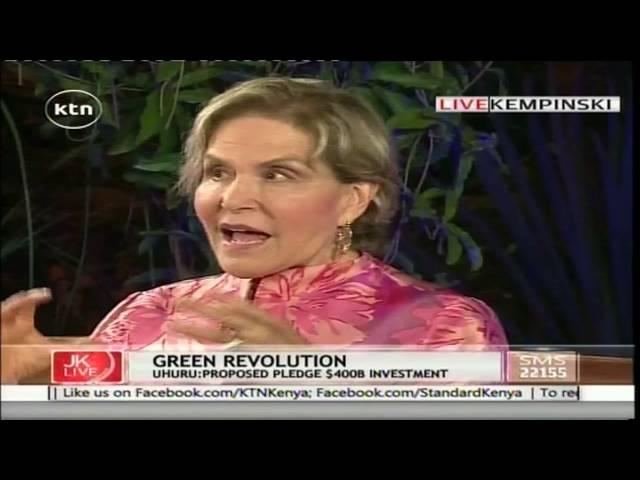 JKL: Green Revolution,AGRF-Agnes Kalibata, Rockefeller-Judith Rodin, September 7th 2016 Part 3