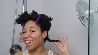 Twist Out On 4C Natural Hair   Exotic Cool Laid