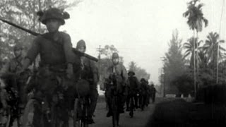 """The Japanese Secret Weapon in Malaya was the Bicycle""..World War 2 (The World at War BBC)"