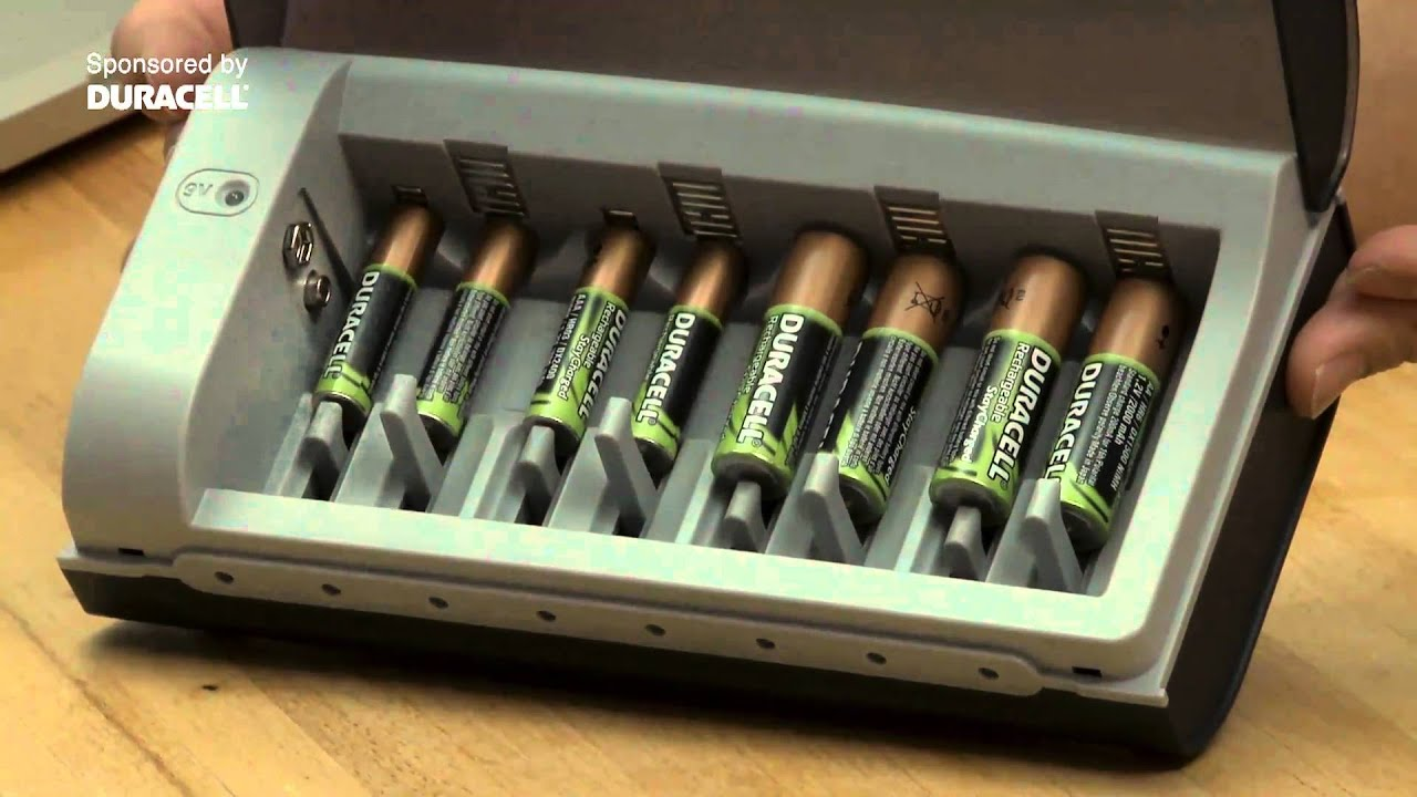 The Duracell Multi Charger