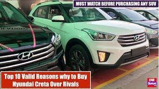 Hyundai Creta 2018 - Top 10 Valid Reasons to Buy over Rivals   Top Best Features in Creta 2018