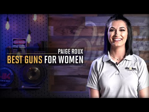 Best Guns for Women Beginners with Paige Roux   Omaha Outdoors