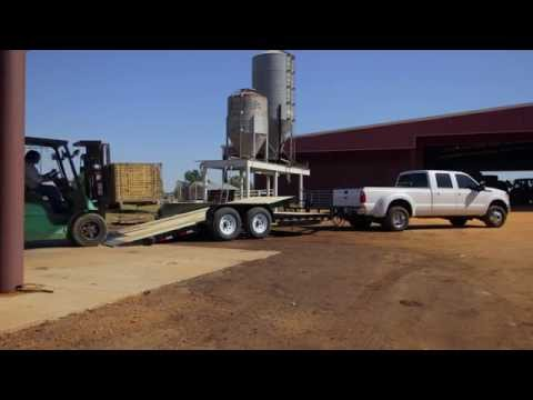 Big Tex 14TL Tilt Deck Equipment Trailer