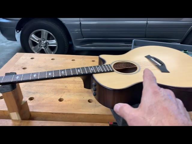 Guitar Stringing Station