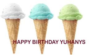 Yuhanys  Ice Cream & Helados