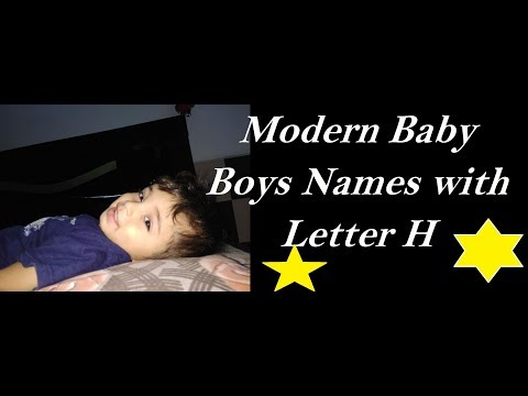 H Letter Name For Girl Baby