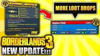 Borderlands 3 NEW UPDATE - EVERYTHING YOU NEED TO KNOW!