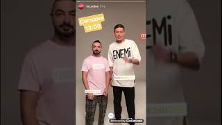 Истории из Инстаграма канал ТНТ. Антон Шастун и Сергей Матвиенко1