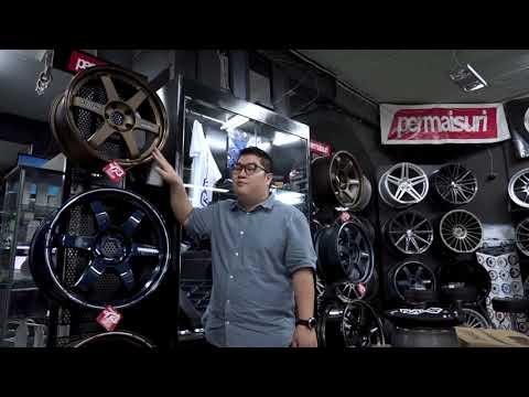 Koleksi velg RAYS TE37 terbanyak di INDONESIA | Vlog 02
