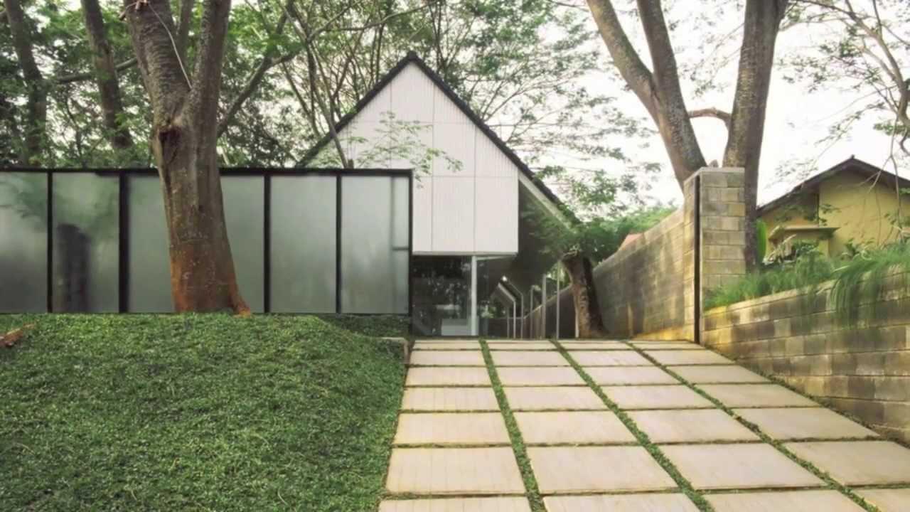 Rumah Studio Air Putih_Denny Gondo_Gambar Kerja UPH  YouTube