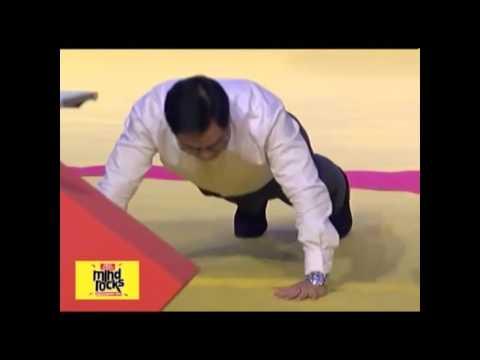 Kiren Rijiju Takes Up Push-Ups Challenge