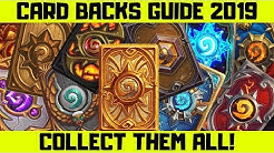 Hearthstone Card Backs Guide 2019