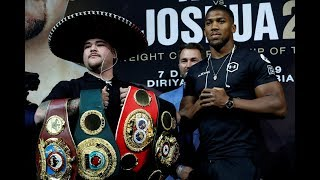 Anthony Joshua and Andy Ruiz Jr hold press conference in London – watch live