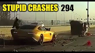 Stupid driving mistakes 294 (December 2018 English subtitles)