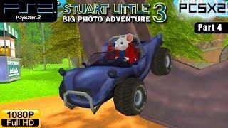 Stuart Little 3: Big Photo Adventure - PS2 Walkthrough - part 4 (Forest)