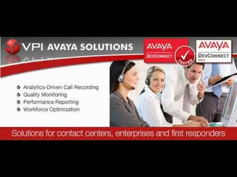 Avaya Compliant Call Recording, Reporting & Workforce Optimization Software  by VPI