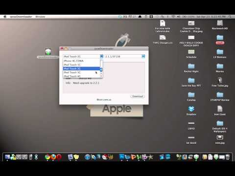 ipswDownloader: Download any Firmware for any iDevice (Mac & Windows)