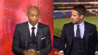 Thierry Henry praises Mathieu Flamini's MOTM performance for Arsenal v Spurs