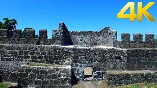 Gonio fortress Apsaros / გონიოს ციხე / Крепостъ Гонио / -  4K aerial video footage - DJI Inspire 1