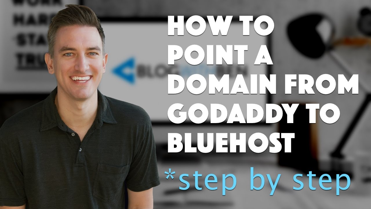 how to connect godaddy to bluehost