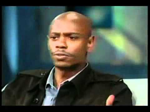 Dave Chappelle Will Not Wear A Dress . Hence.. Africa!