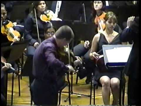 Brahms Concierto 1er Mov. OP 77 EN RE MAYOR