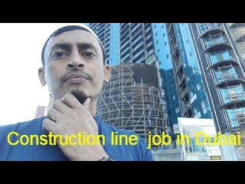 Construction line job I will help you to find a good job in Dubai