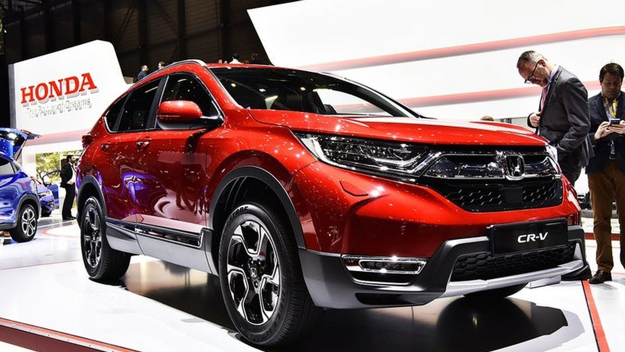 all new 2019 honda cr v first look 2018 geneva auto show. Black Bedroom Furniture Sets. Home Design Ideas