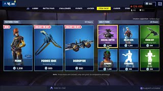* NOVO * PSION & AXIOM skins-20 de março Fortnite Daily Item Shop LIVE