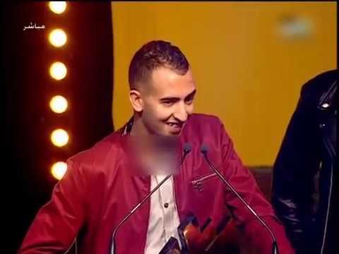 mr crazy la fouine  لافوين يقدم جائزة احسن رابور لمستر كرايزي