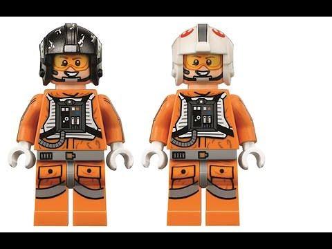Snowspeeder Pilot LEGO Star Wars Minifig Mini Figure