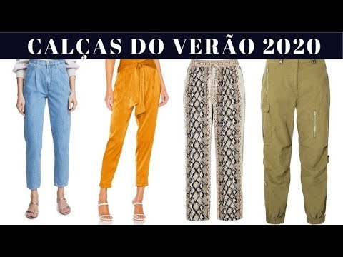 100 CALÇAS TENDÊNCIAS DO VERÃO 2020