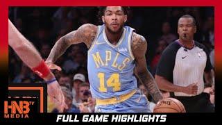 Brandon Ingram (19 pts) Full Highlights vs Wizards / Week 2 / Lakers vs Wizards / 2017 NBA Season