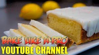 Easy Lemon Pound Cake Recipe with Lemon Glaze !