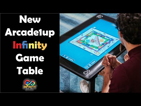 BREAKING: Arcade1up Infinity Game Table Revealed! Has Online App Store and Online Play from Unqualified Critics