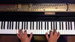 Tutorial piano y voz Sealed with a kiss ( Bobby Vinton )