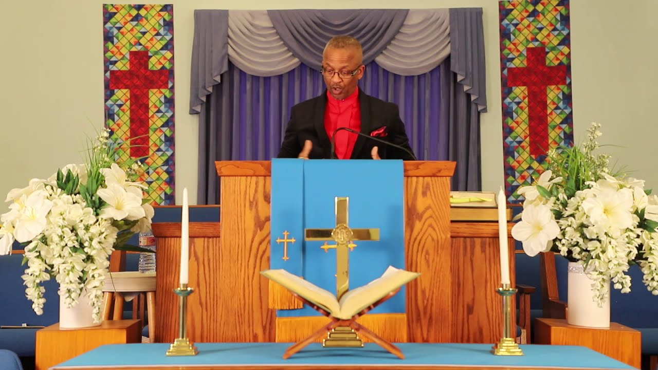 """Reverend Anthony Newell Sermon -""""Positioned in Happiness"""""""