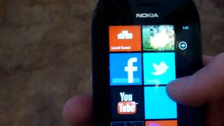 nokia Lumia 710 Review Part 1 (WP7)  (T-Mobile) Personal Consumer Review