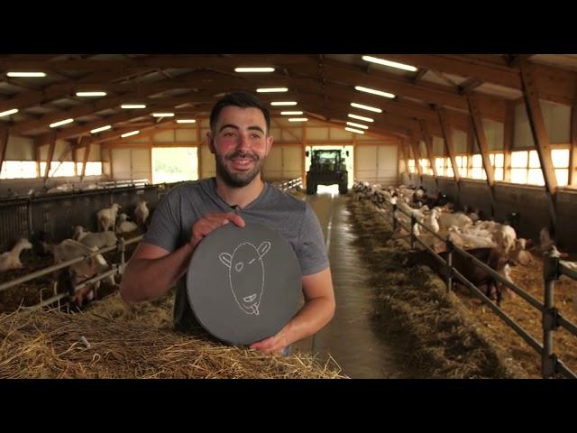 « PASSIONNÉMENT CHÈVRE ! » - 2021 : Germain Vigier, éleveur de chèvres et producteur de fromages