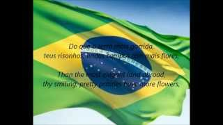 "Brazilian National Anthem - ""Hino Nacional Brasileiro"" (PT/EN)"
