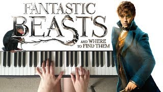 Newt Says Goodbye to Tina / Jacob's Bakery - Fantastic Beasts and Where to Find Them || PIANO COVER