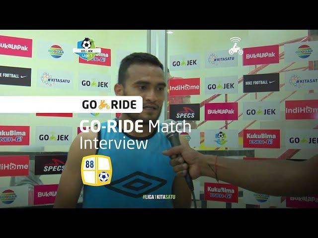[GO-RIDE Match Interview]  Rizky Pora