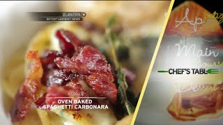 Chefs Table - Oven Baked Spaghetti Carbonara