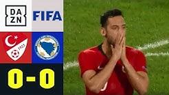 Hakan Calhanoglu und Co. spielen nur Remis: Türkei - Bosnien 0:0 | Highlights | Testspiel | DAZN