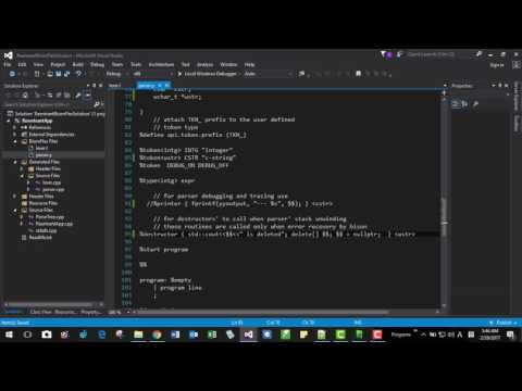 004B Scan string buffer text instead of console or file input using Flex