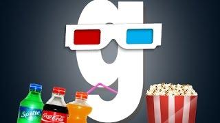 Обзор аддонов Gmod - Кинотеатр (Cinema Mod)
