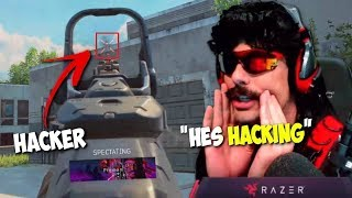 DrDisRespect Dies And Spectates Hacker Aimbot  WallHack In Blackout 113018