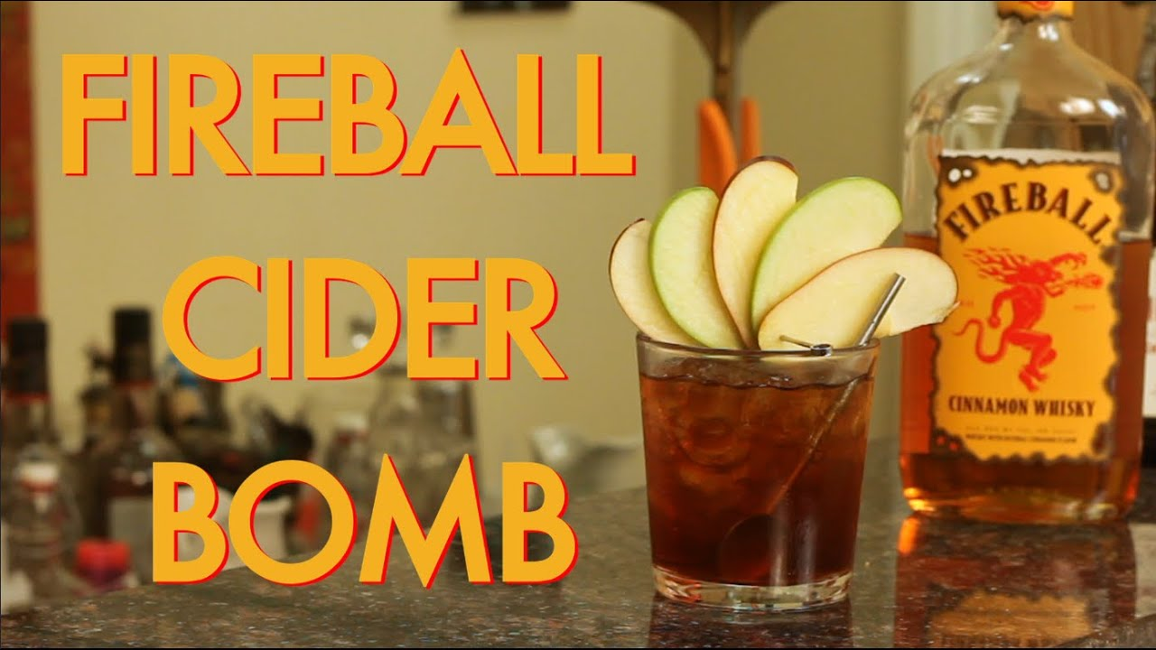 How to make a fireball whisky apple cider cocktail drinks for Easy to make drinks